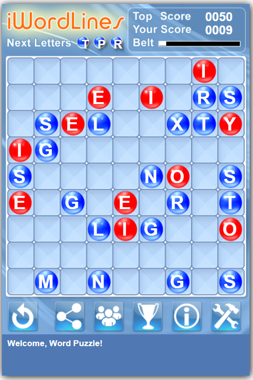 Учите английский, играя Word Lines Game